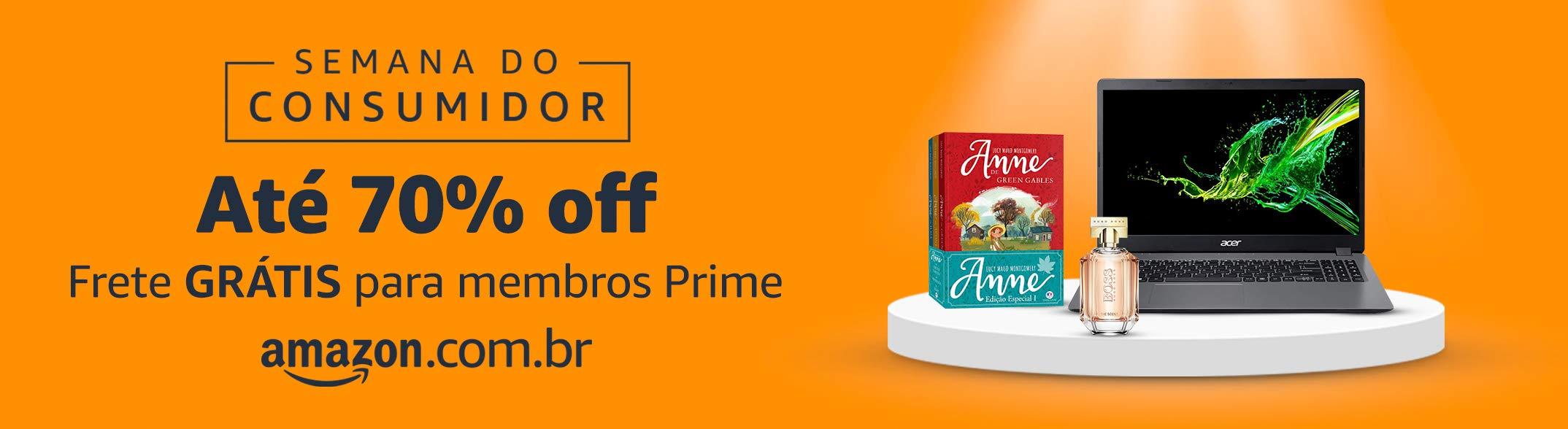 Semana do Consumidor Amazon