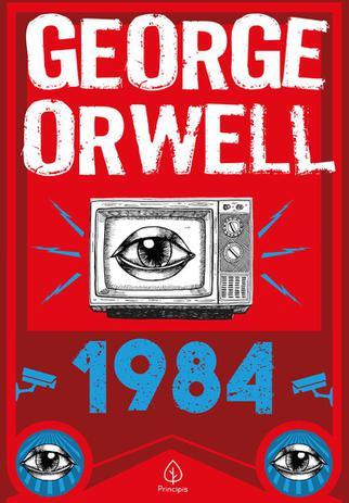 Capa de 1984 - George Orwell