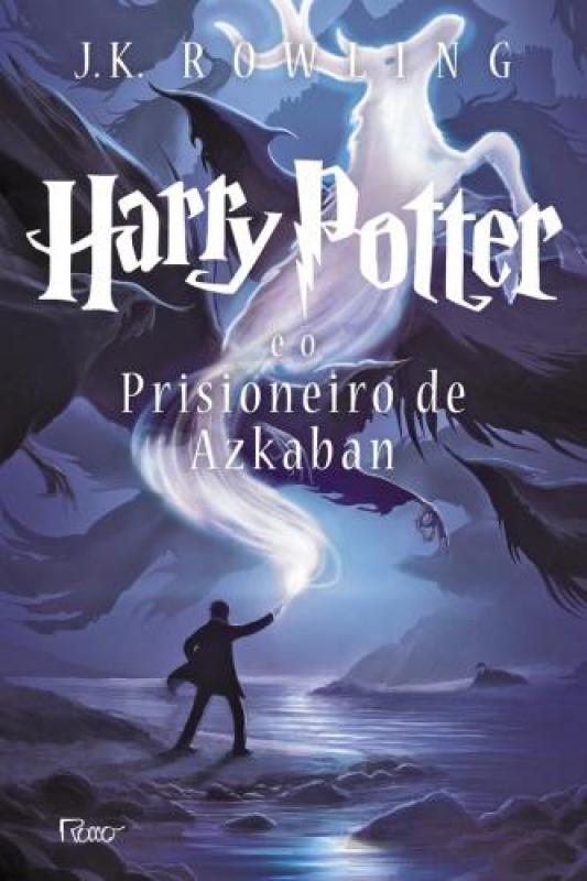 Capa de Harry Potter e o prisioneiro de Azkaban - J. K. Rowling