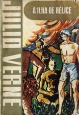 Capa de A ilha de hélice - Julio Verne