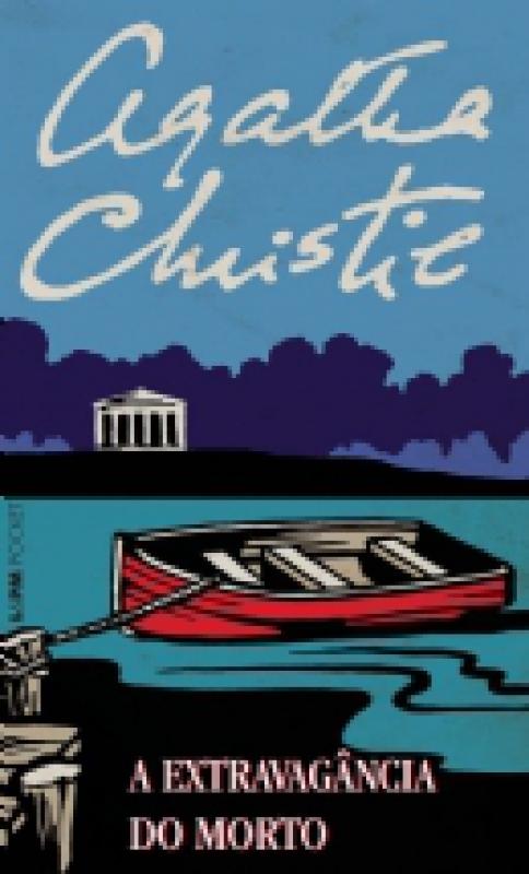 Capa de A extravagância do morto - Agatha Christie