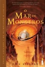 Capa de O mar de monstros - Rick Riordan