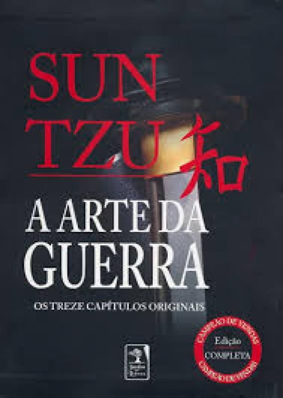 Capa de A arte da guerra - Sun Tzu