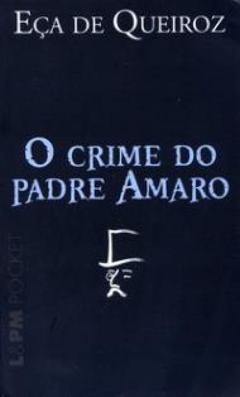 Capa de O crime do Padre Amaro - Eça de Queiroz