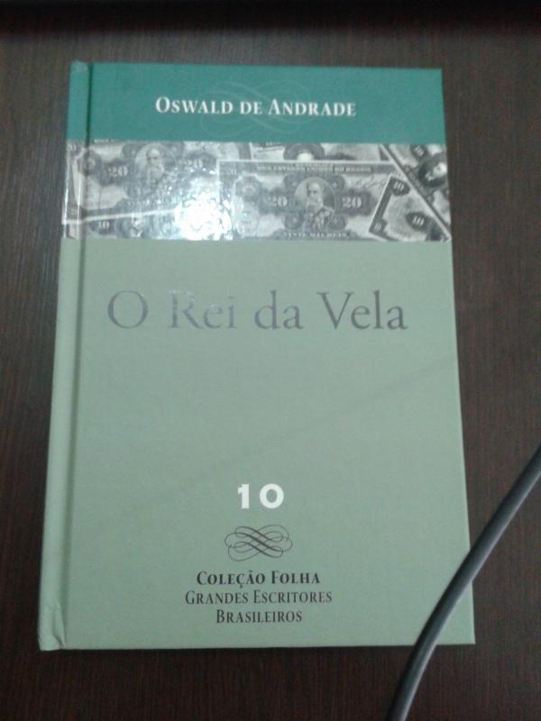 Capa de O Rei da Vela - Oswald de Andrade