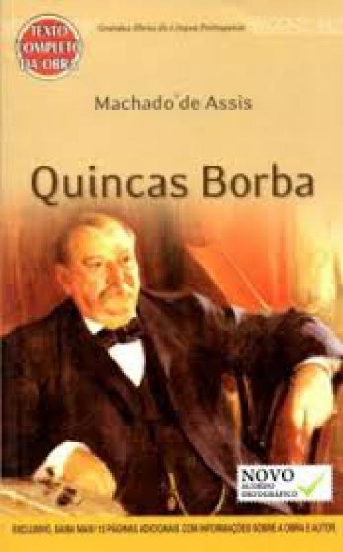 Capa de Quincas Borba - Machado de Assis