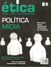 Capa de ÉTICA: POLÍTICA, MÍDIA - Ana Claudia Ferrari, coordenadora, Clóvis de Barros Filho, organizador