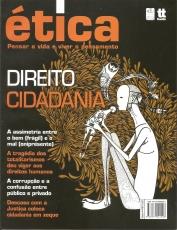 Capa de ÉTICA: DIREITO, CIDADANIA - Ana Claudia Ferrari, coordenadora, Clóvis de Barros Filho, organizador
