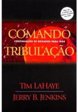 Capa de Comando Tribulação - Tim LaHaye e Jerry B. Jenkins
