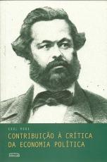 Capa de Contribuição à crítica da economia política - Karl Marx