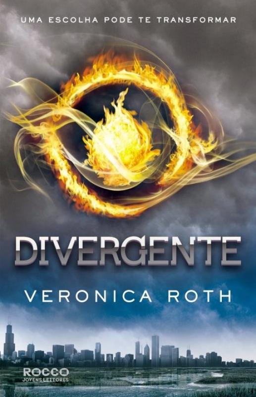 Capa de Divergente - Veronica Roth
