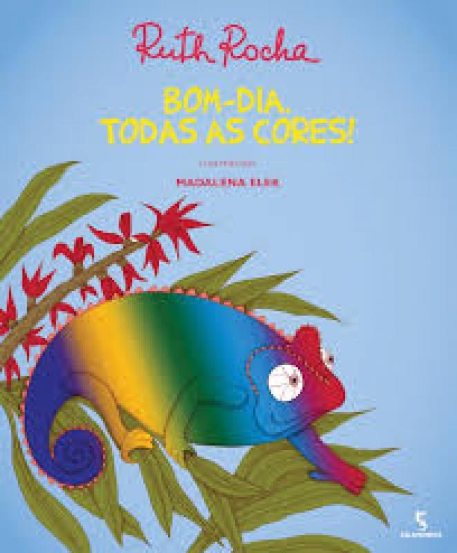 Capa de Bom dia, todas as cores! - Ruth Rocha