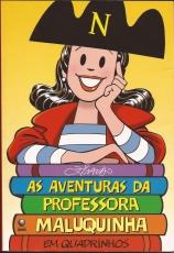 Capa de As aventuras da professora Maluquinha em quadrinhos - Ziraldo