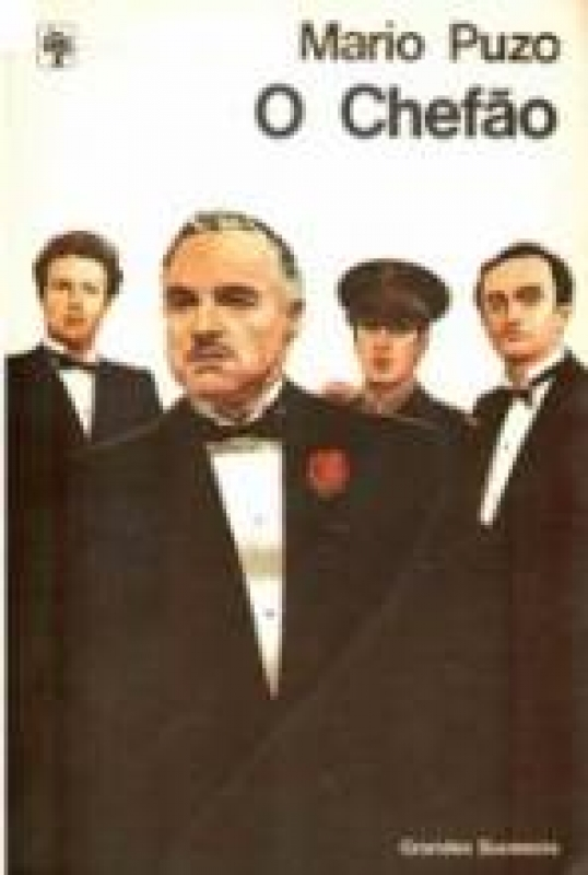 Capa de O chefão - Mario Puzo