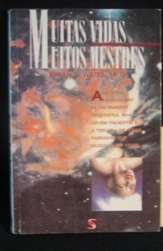 Capa de Muitas vidas, muitos mestres - Brian L. Weiss M. D.