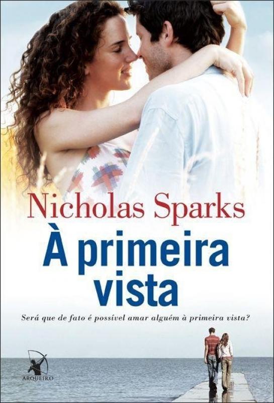 Capa de À primeira vista - Nicholas Sparks