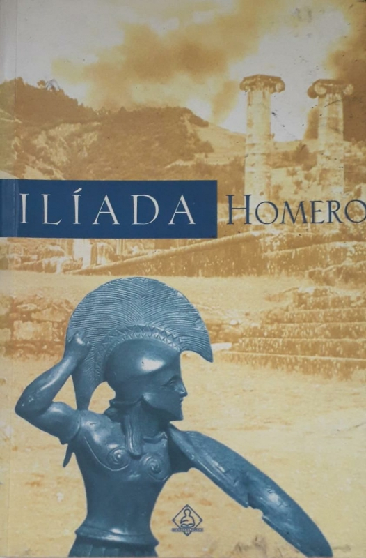 Capa de Ilíada - Homero