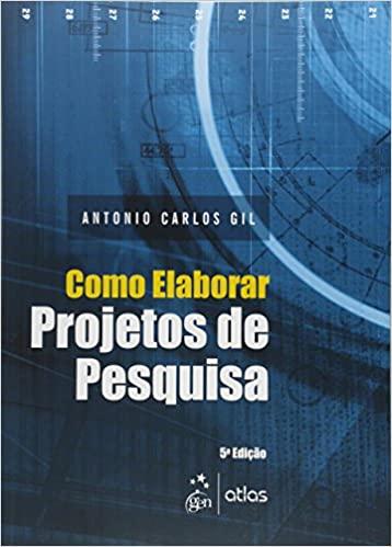 Capa de Como Elaborar Projetos de Pesquisa - Antonio Carlos Gil