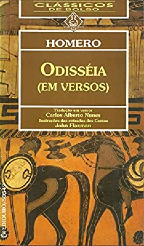 Capa de (A) Odisseia - Homero