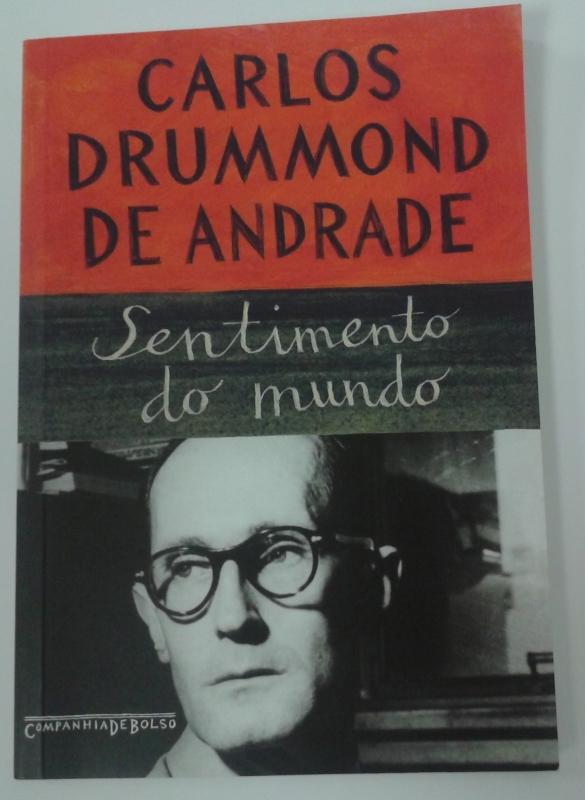 Capa de Sentimento do mundo - Carlos Drummond de Andrade