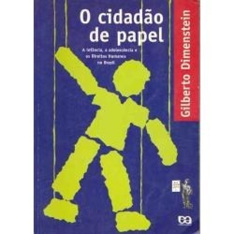 Capa de O cidadão de papel - Gilberto Dimenstein