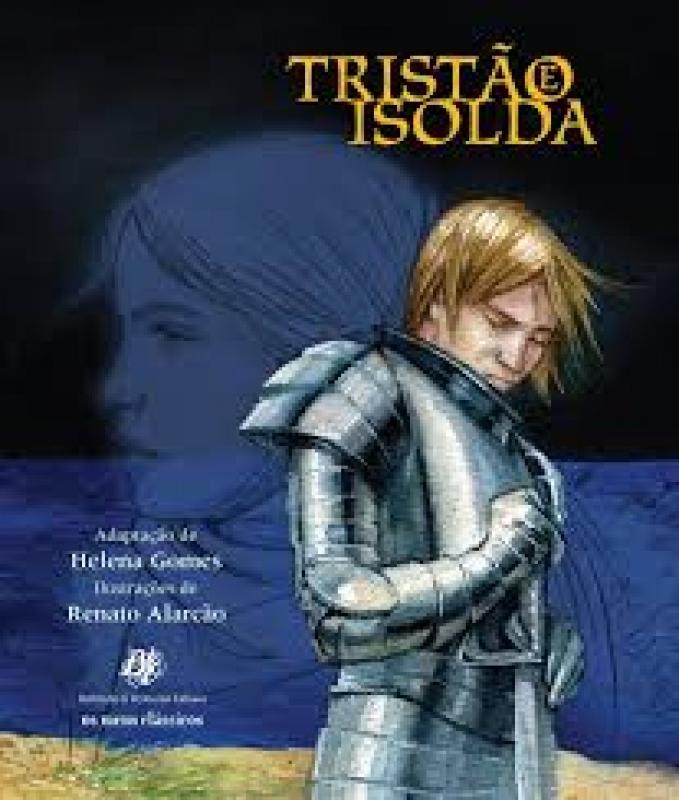 Capa de Tristão e Isolda - Helena Gomes - adaptação