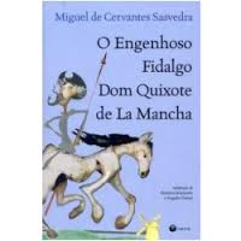 Capa de Dom Quixote de La Mancha - Miguel de Cervantes; Federico Jeanmaire (adap.); Ángeles Durini (adap.)