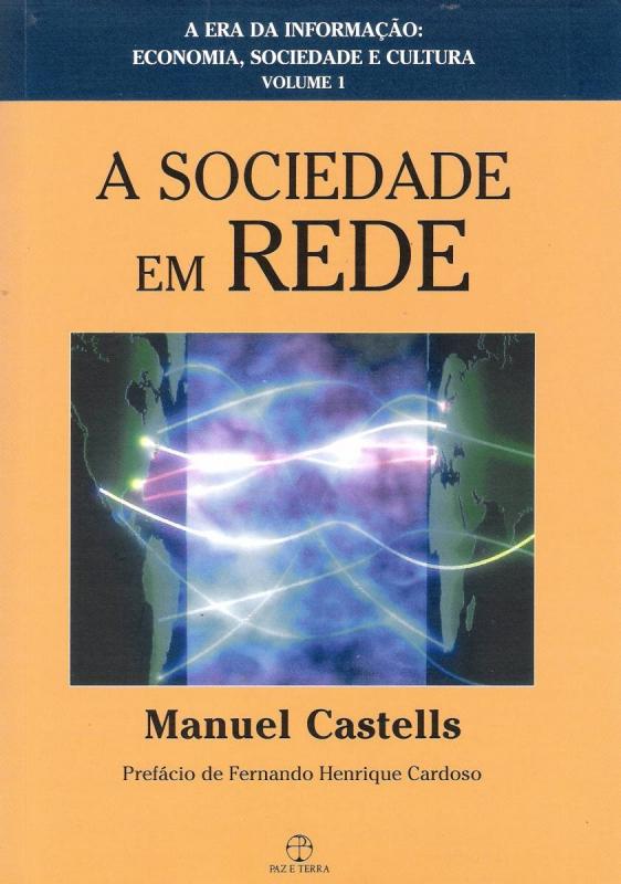 Capa de A sociedade em rede - Manuel Castells