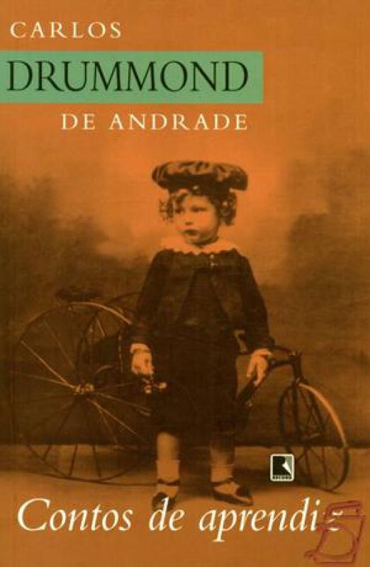 Capa de Contos de aprendiz - Carlos Drummond de Andrade