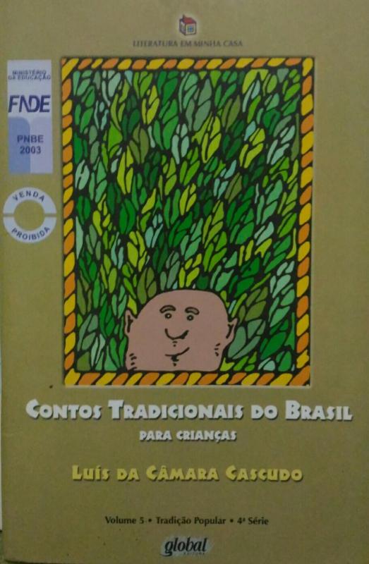 Capa de Contos tradicionais do Brasil - Luís da Câmara Cascudo
