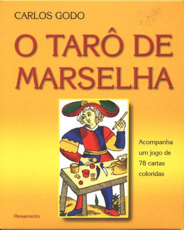 Capa de O tarô de Marselha - Carlos Godo