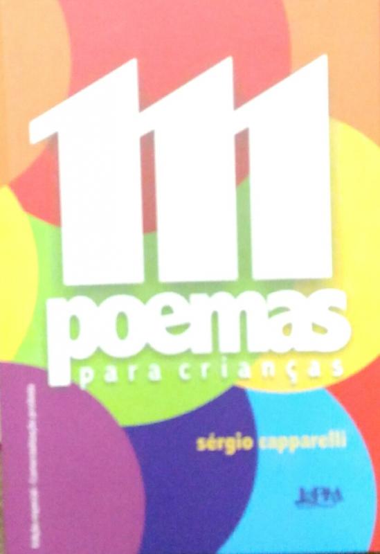 Capa de 111 poemas para crianças - Sérgio Capparelli