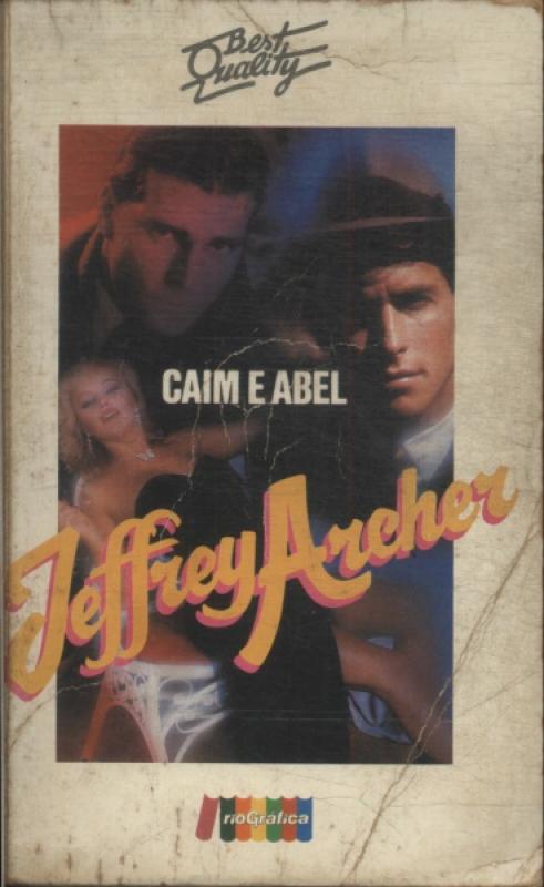 Capa de Caim e Abel - Jeffrey Archer