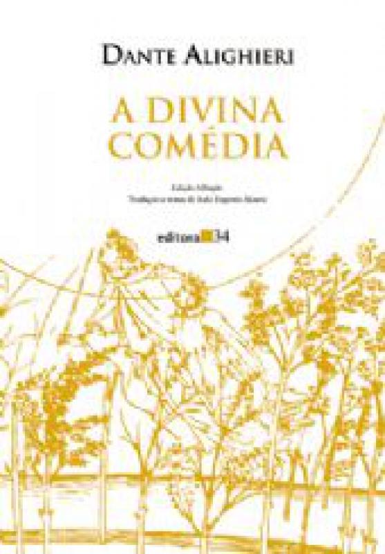 Capa de A divina comédia: inferno - Dante Alighieri