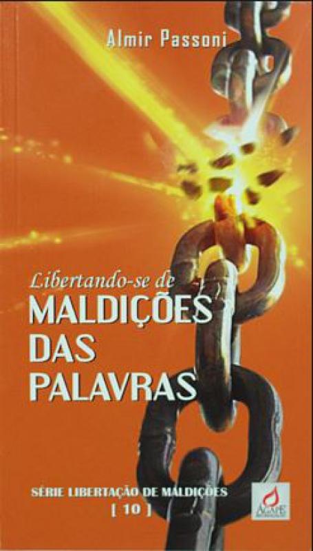 Capa de Libertando-se de Maldições das Palavras - Almir Passoni