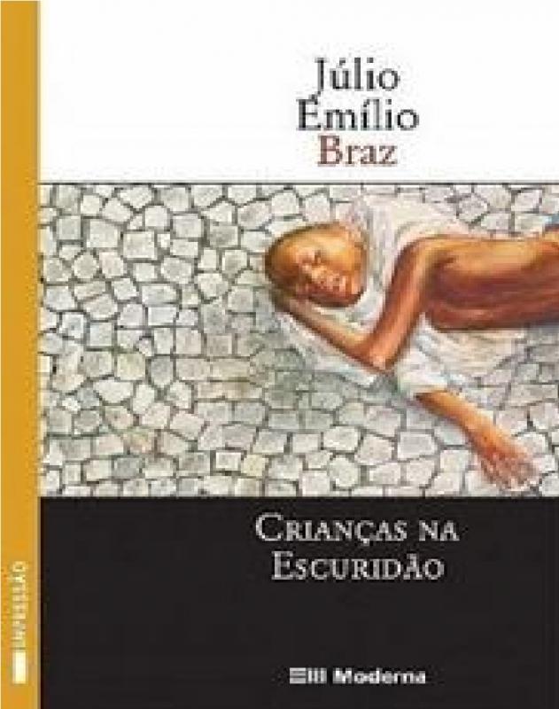 Capa de Crianças na escuridão - Júlio Emílio Braz