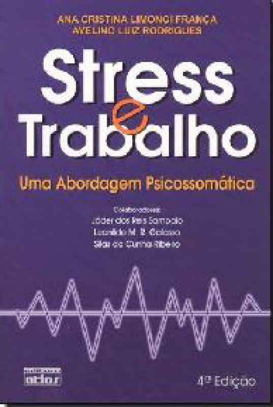 Capa de Stress e Trabalho - Ana Cristina Limongi Franca