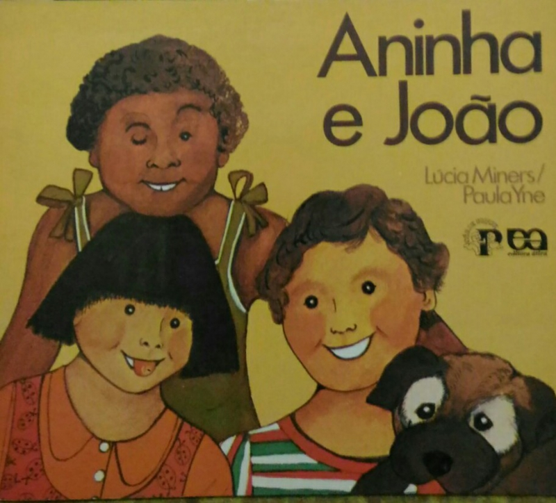 Capa de Aninha e João - Lúcia Miners; Paula Yne
