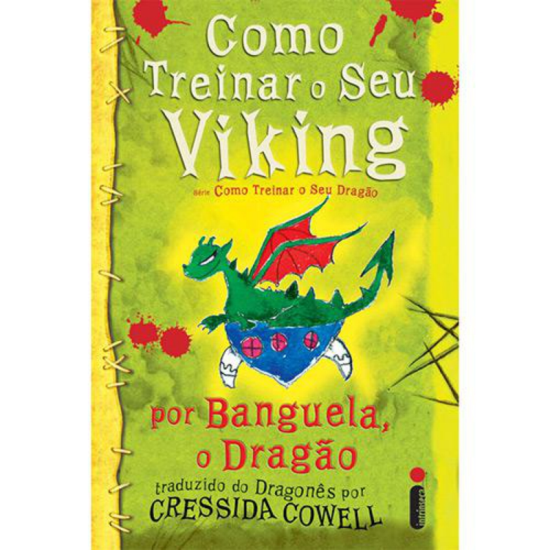 Capa de Como treinar o seu viking - Cressida Cowell