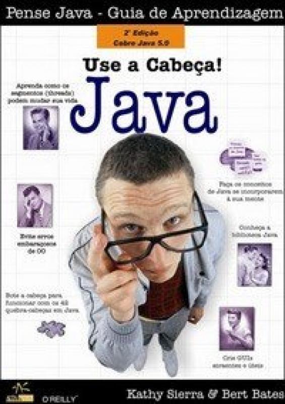 Capa de Use a cabeça! Java - Bert Bates Kathy