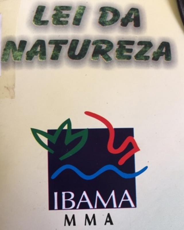 Capa de Lei da Natureza - IBAMA