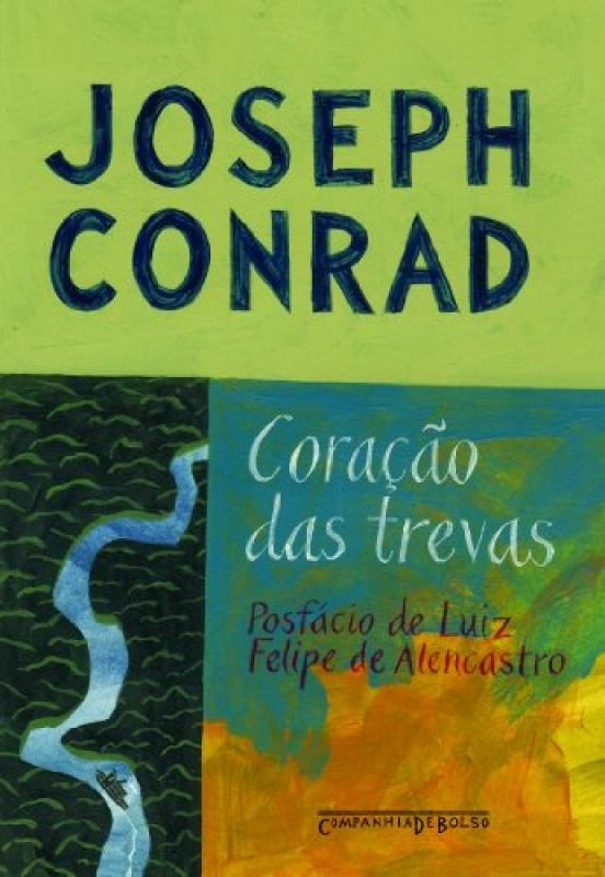 Capa de Coração das trevas - Joseph Conrad