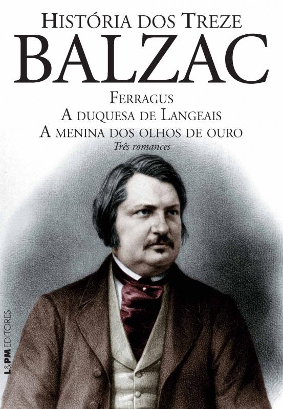 Capa de Histórias dos treze - Balzac