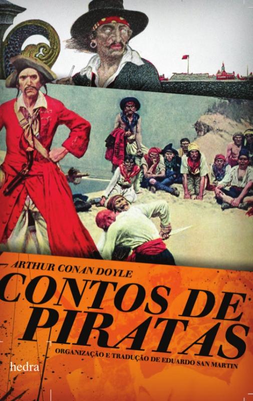 Capa de Contos de piratas - Arthur Conan Doyle