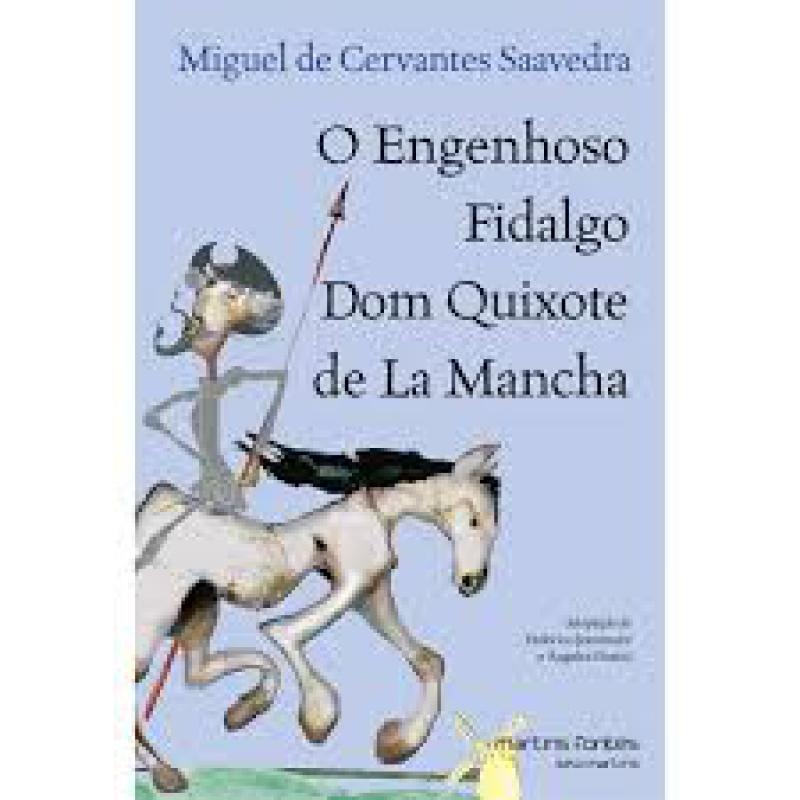 Capa de O Engenhoso Fidalgo Dom Quixote de La Mancha - Miguel de Cervantes