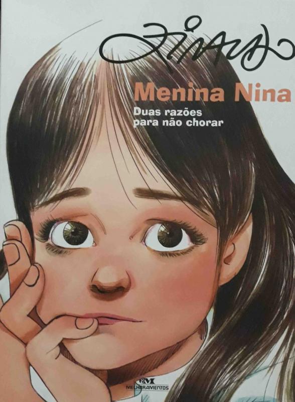 Capa de Menina Nina - Ziraldo