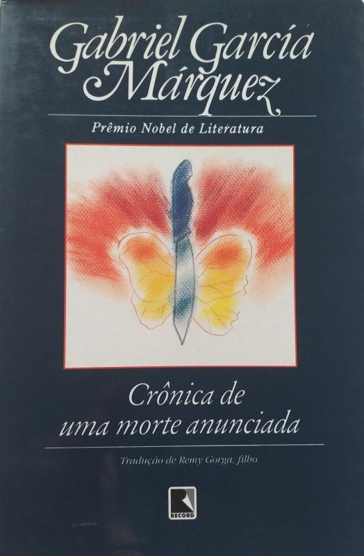 Capa de Crônica de uma morte anunciada - Gabriel García Márquez
