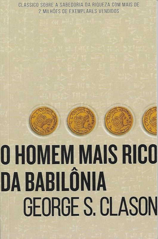 Capa de O homem mais rico da Babilônia - George S. Clason