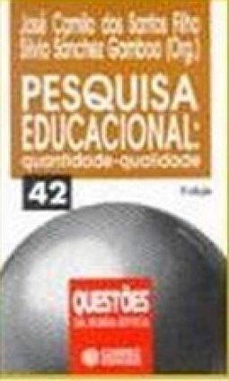 Capa de Pesquisa educacional - José Camilo Dos Santos Filho; Sílvio Sanchez Gamboa