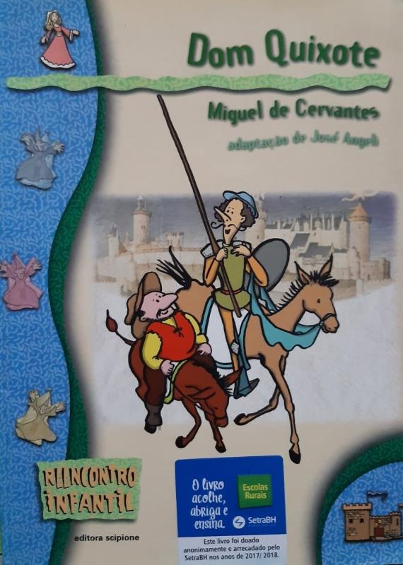 Capa de Dom Quixote - Miguel de Cervantes; José Angeli (adap.)